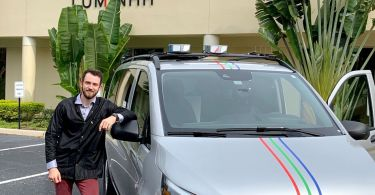Photo of Autonomous Lidar Engineer Nico Gentry