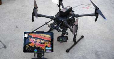 Image of Emergency Responders Use UAVS to Map Toxic Gases