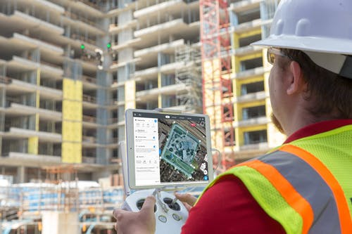 Photo of Construction Firm Rogers-O'Brien Cutting Costs with Drones