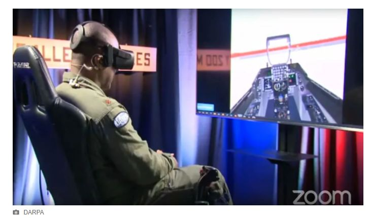 image of AI and Drones Against Top Fighter Jet Pilot