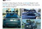 image of Tesla Y with Lidar