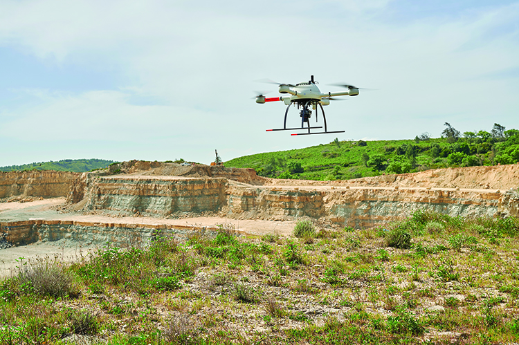 image of 21 Drone Quarry Surveys in 60 Days
