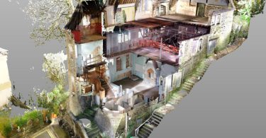 Image of Cultural Heritage Preserved with 3D in Wales