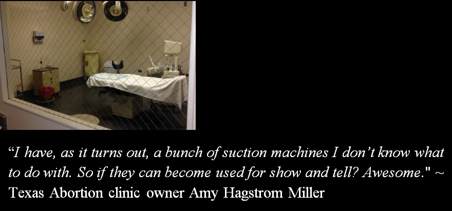 Amy Hagstrom Miller abortion suction machine show tell