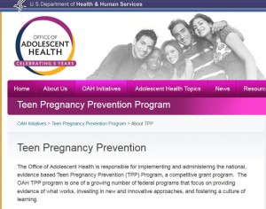 TPP Teen Pregnancy Prevention Program Planned Parenthood