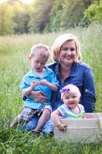 Lorie Keene and babies