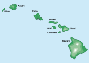 graphic regarding Printable Map of Hawaiian Islands named HURRICANE Warn The Hawaiian Islands Mild-Life® Technological know-how