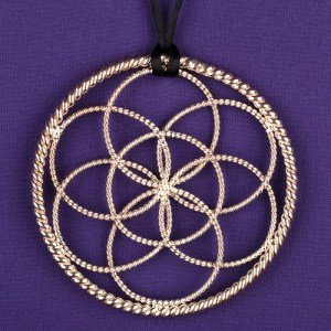 1/2 LOST CUBIT LOTUS PENDANT