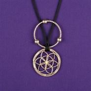 Sacred Cubit Lotus Pendant