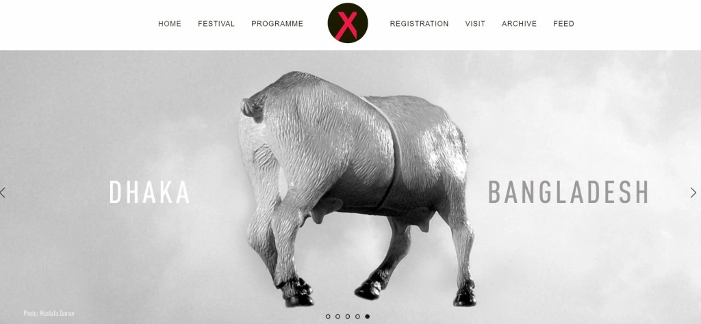Chobimela Photo Festival Website Screenshot