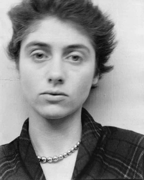 Portrait of Diane Arbus.