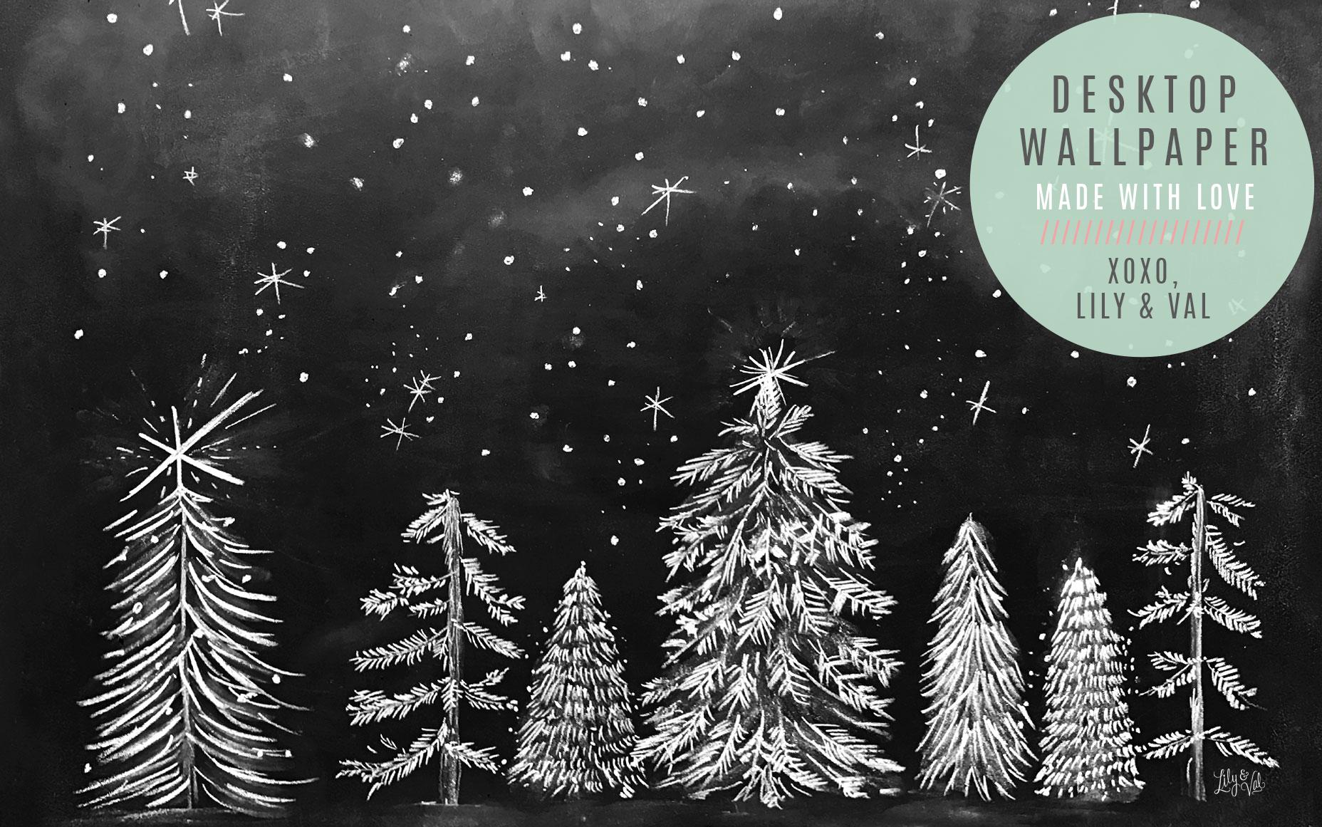 Free Lily & Val desktop download for December