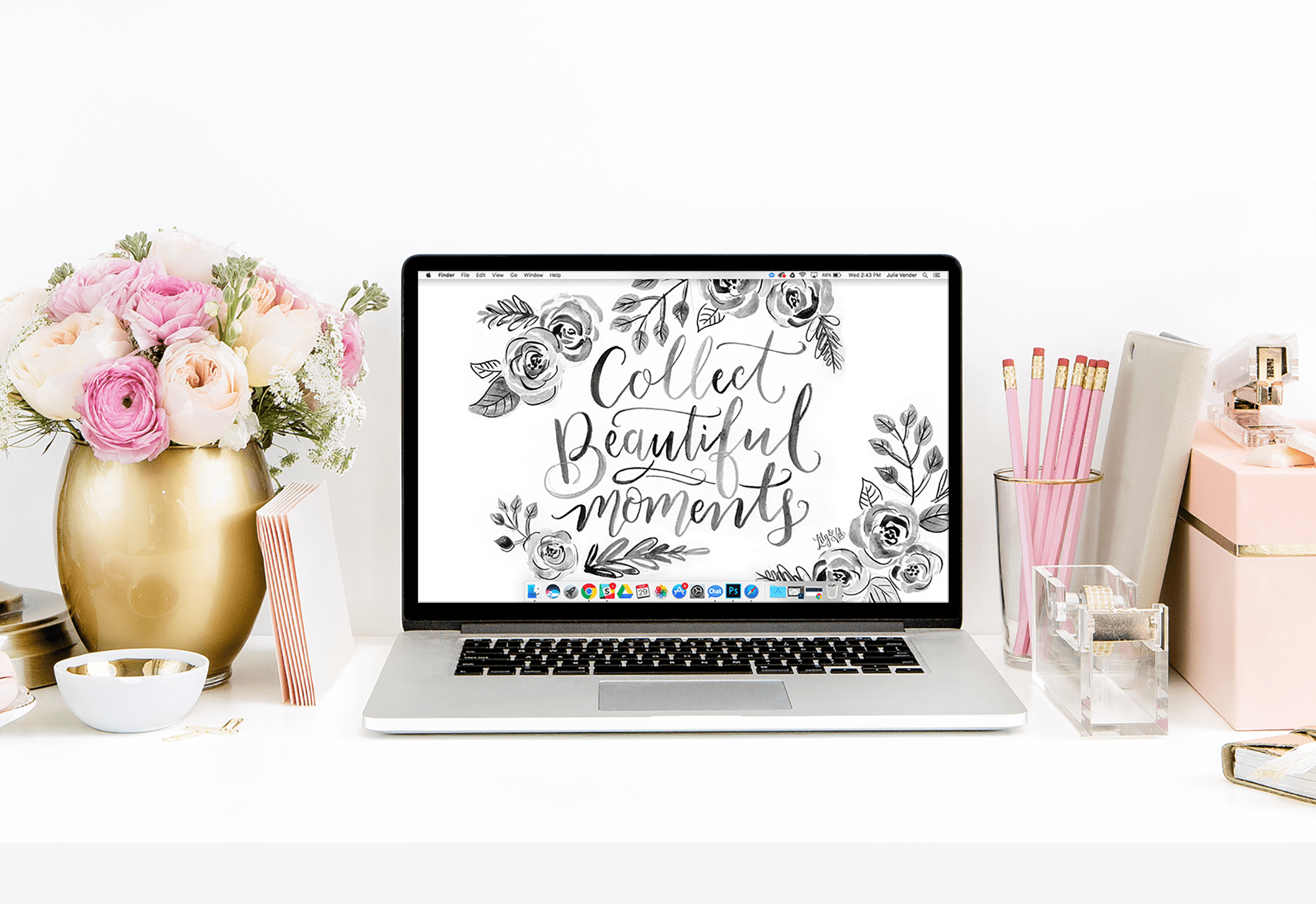 April's Beautiful Moments FREE Wallpaper Download from Lily & Val