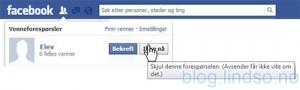 Mange kan oppleve at det er vanskelig å avvise elever på Facebook