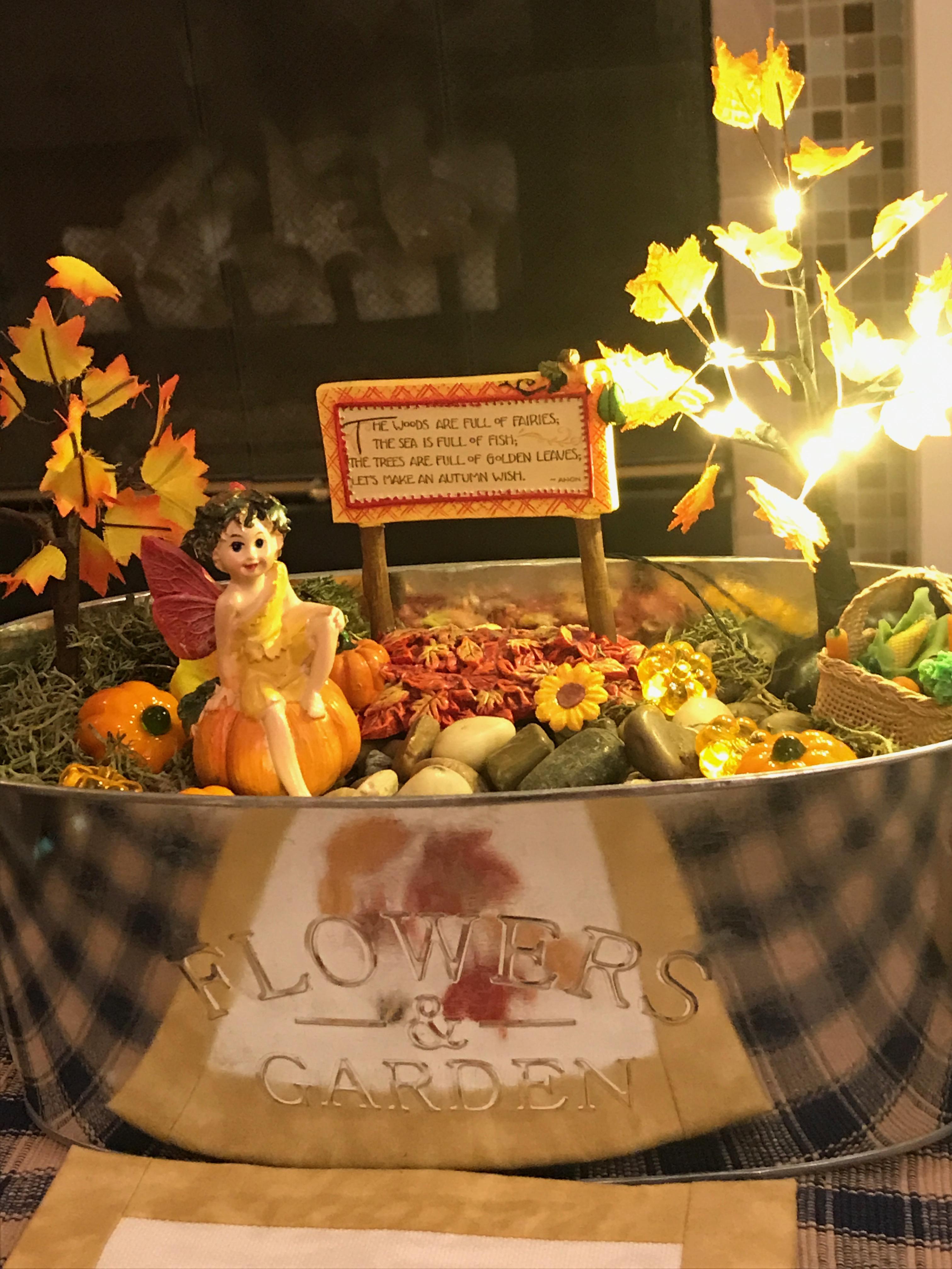 Autumn Arrives In My Fairy Gardens - Lindy\'s List