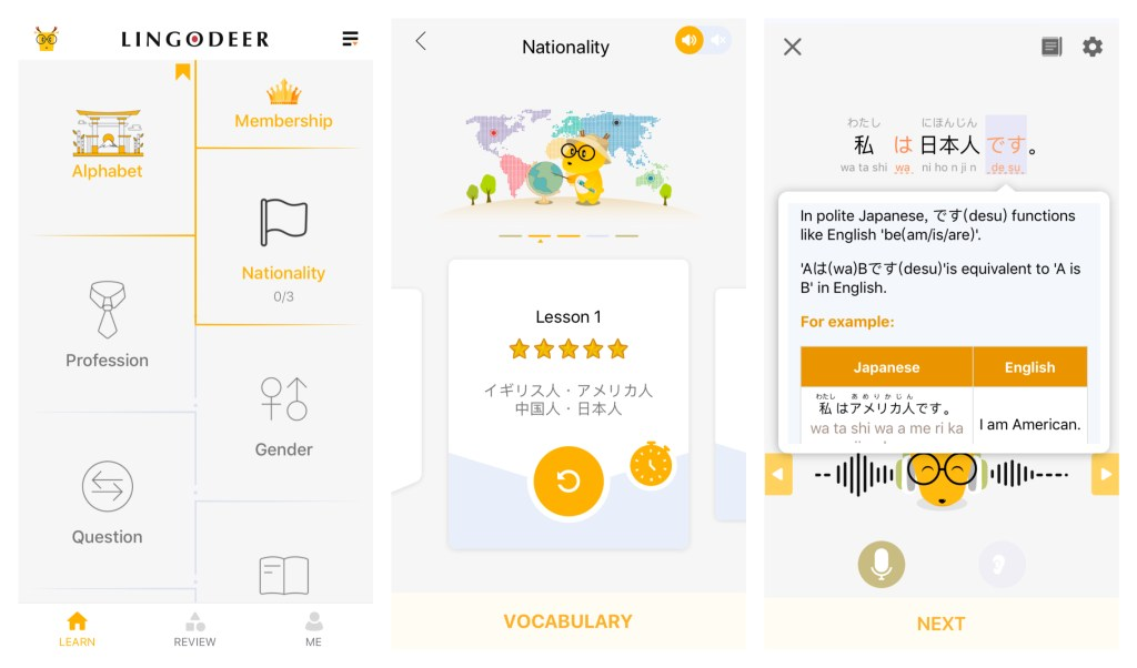 Best Language Learning Apps LingoDeer