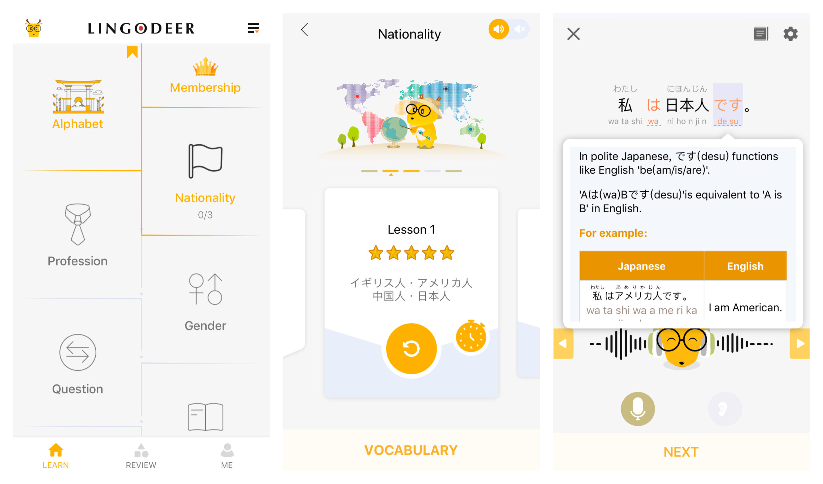 Best Language Learning App LingoDeer