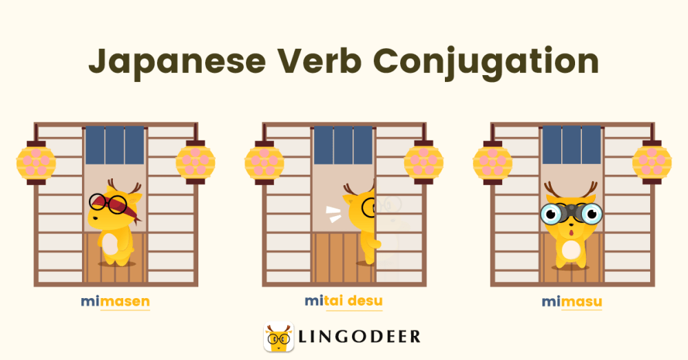 Japanese verb conjugation