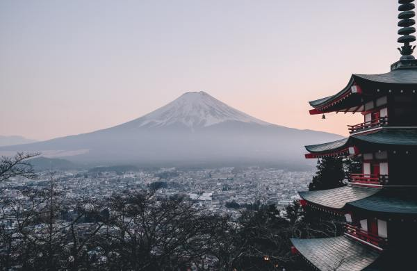 japanisch lernen Fuji