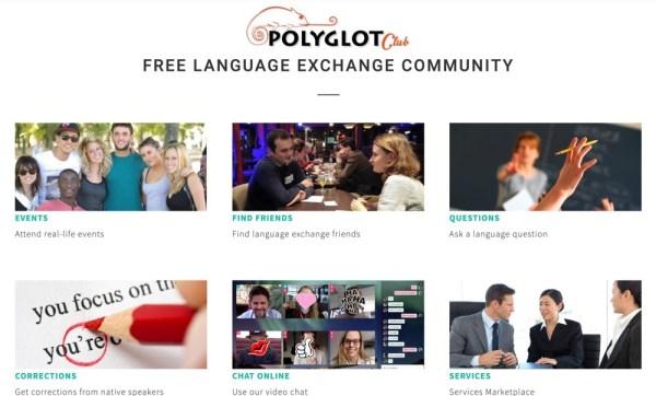 learn German Polyglot club
