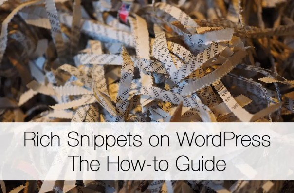 how to add rich snippets to WordPress1