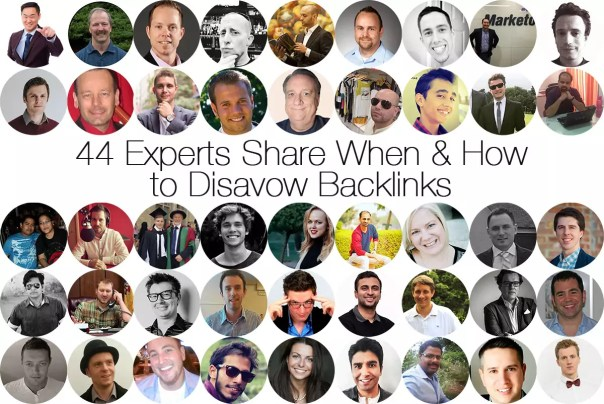 how to disavow backlinks