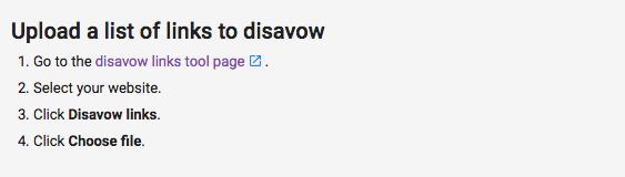 disavow backlinks1