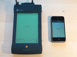 Apple Newton device