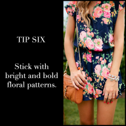 Floral Prints Tip Six