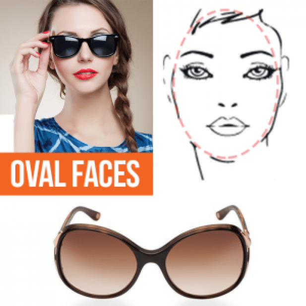A Guide to the Perfect Pair of Sunglasses for Any Face Shape - Oval Faces