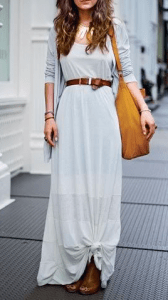 Maximize Your Summer Style with Maxi Dresses - Maxi Dress with a Belt