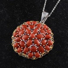 Maximize Your Summer Style with Maxi Dresses - Mediterranean Coral Pendant