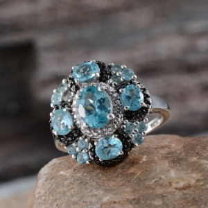 Rare and Exotic Gemstones - Madagascar Apatite Ring