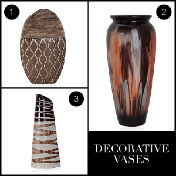 Spruce up your home for Fall - Decorative Vases