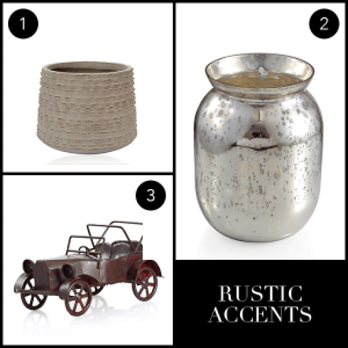 Spruce up your home for Fall - Rustic Accents