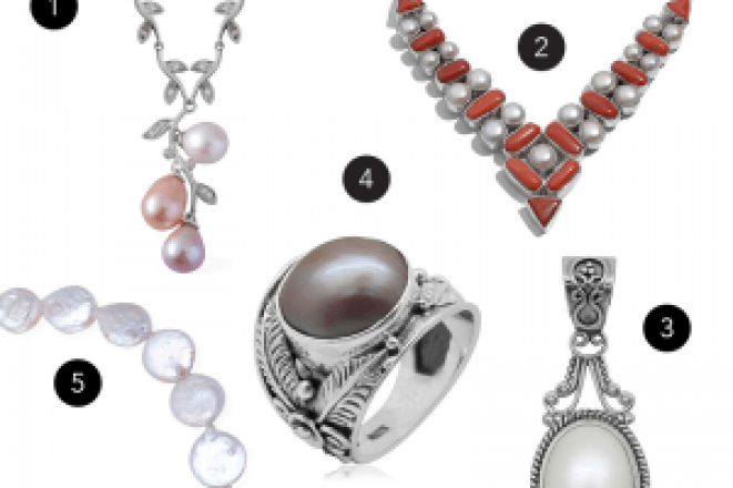 June birthstone jewelry gifts.
