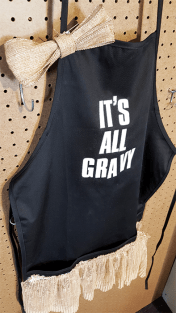 DIY - Thanksgiving Day Apron - finished product