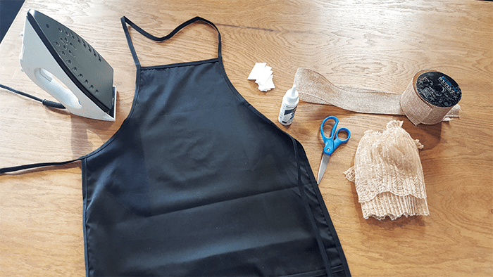 DIY - Thanksgiving Day Apron - materials