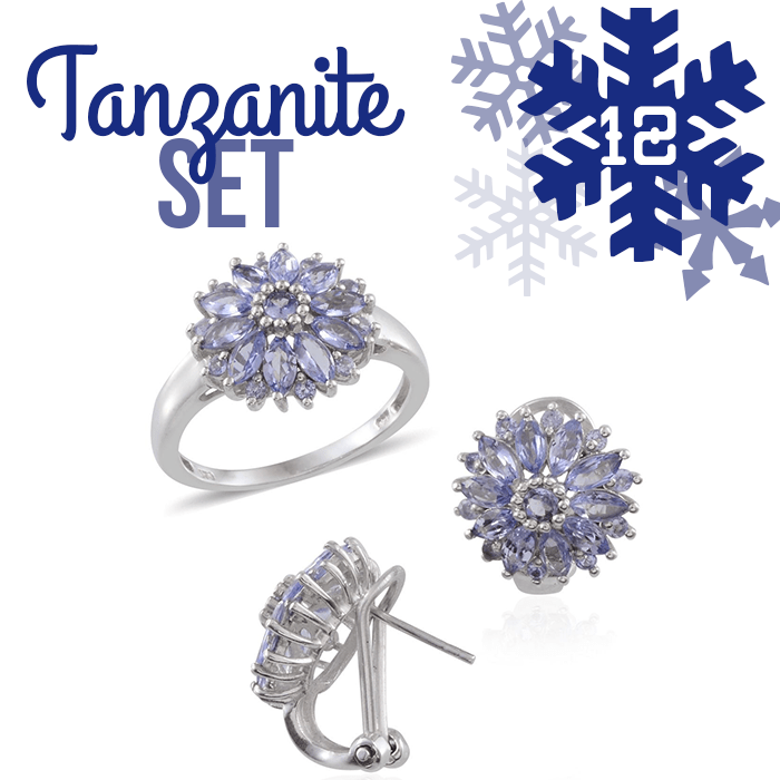 12 Days of Tanzanite - 12 - Tanzanite Set