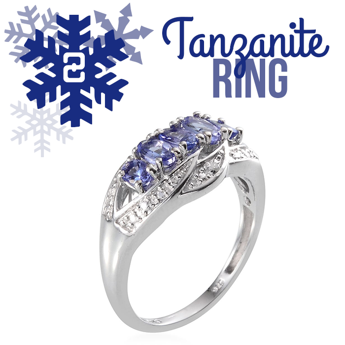 12 Days of Tanzanite - 2 - Tanzanite Ring
