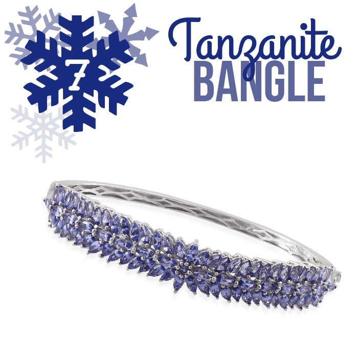 12 Days of Tanzanite - 7 - Tanzanite Bangle