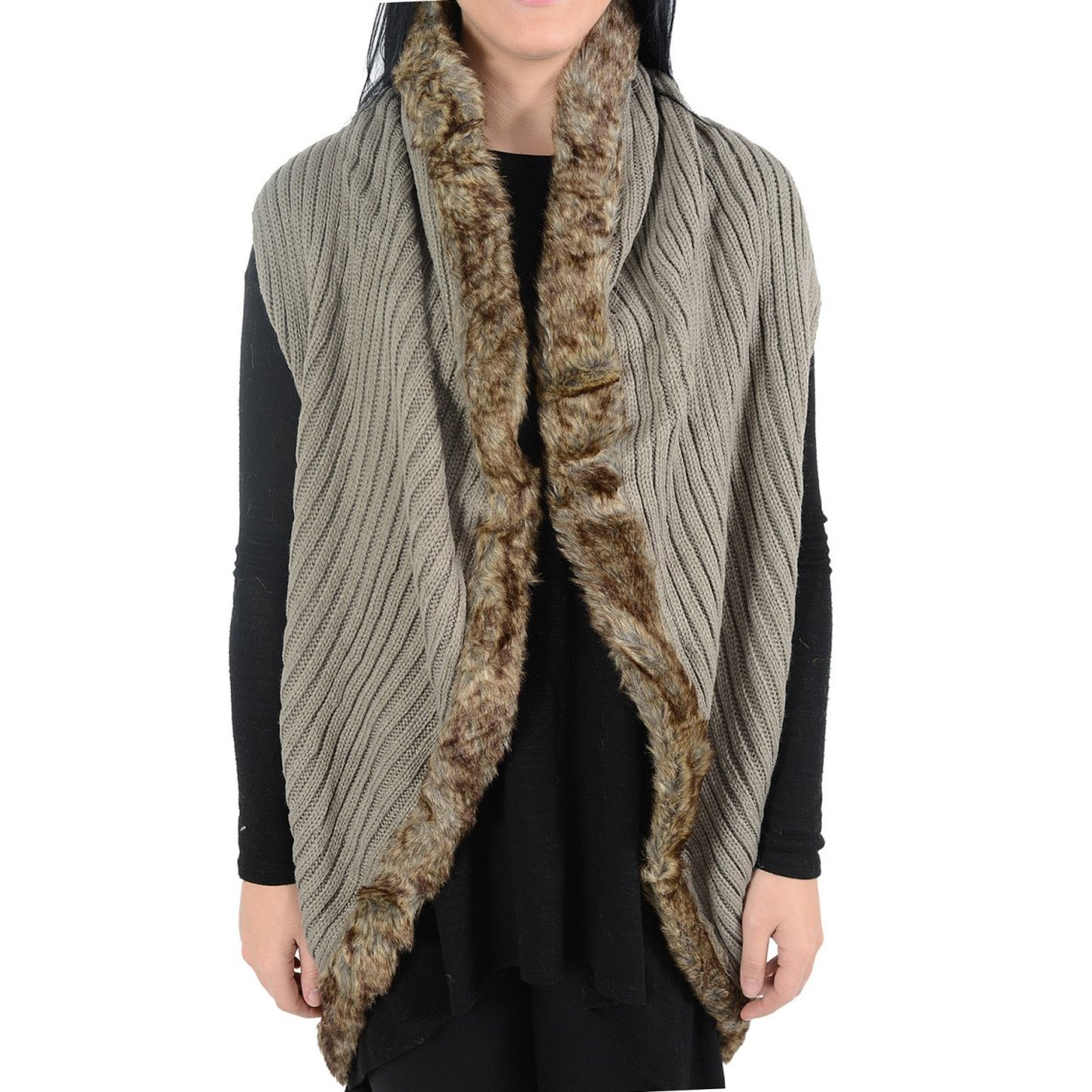 winter accessories - knitted vest