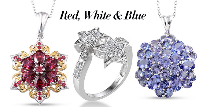 Red, White and Blue Collection