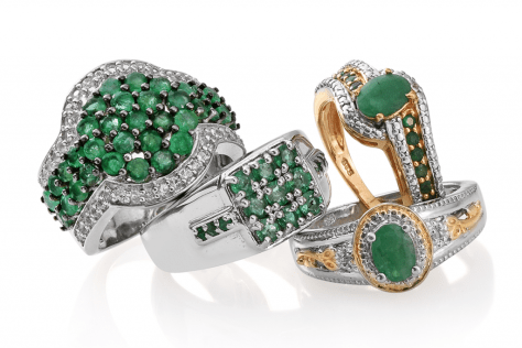 Emerald Jewelry from LC