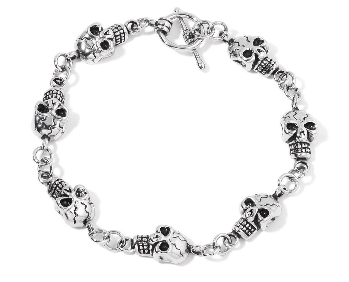 Halloween Jewelry - Skull Bracelet