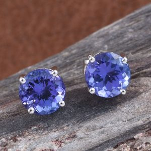 solitaire rings and earrings