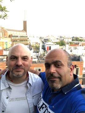 David & Morteza Mr Porter