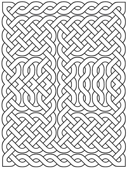 Printable Celtic Knots: October