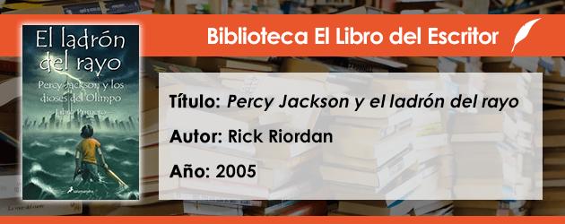 Biblioteca de El Libro del Escritor: Percy Jackson