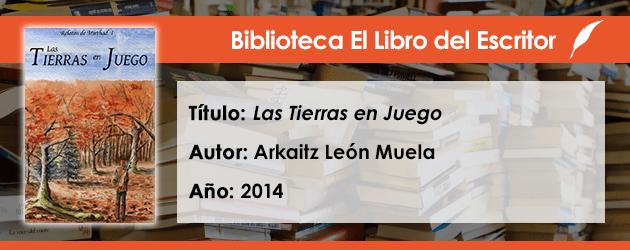 Biblioteca de El Libro del Escritor: Las Tierras en Juego